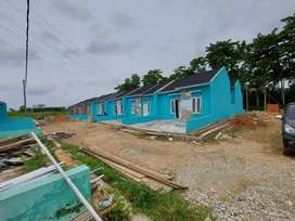 Rumah supsidi siap huni pinggir jalan kecamatan jati agung