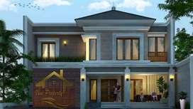 Siap Bangun LT 317 m2 Dlam Komplek Dpr Jagakarsa - Free Request Design