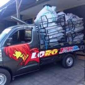 Jasa pindahan Sewa mobil bak & truk engkel CDE mobil pick up losbak