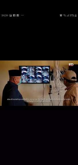 Cctv Full HD lengkap dengan pasang