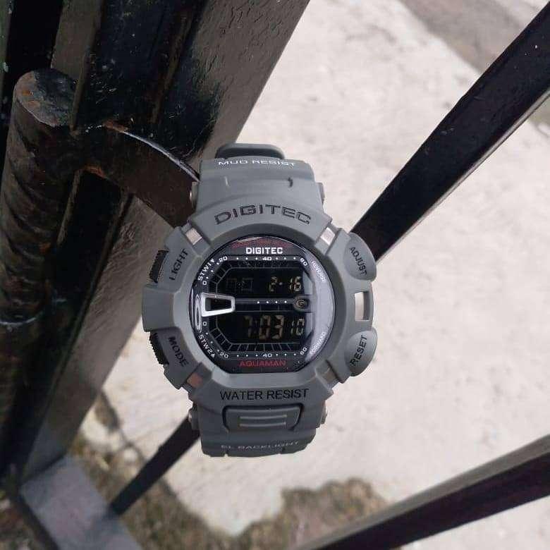 Jam Tangan Casual Digitec Digital DG0865LB Cowok Handal Perfect 0