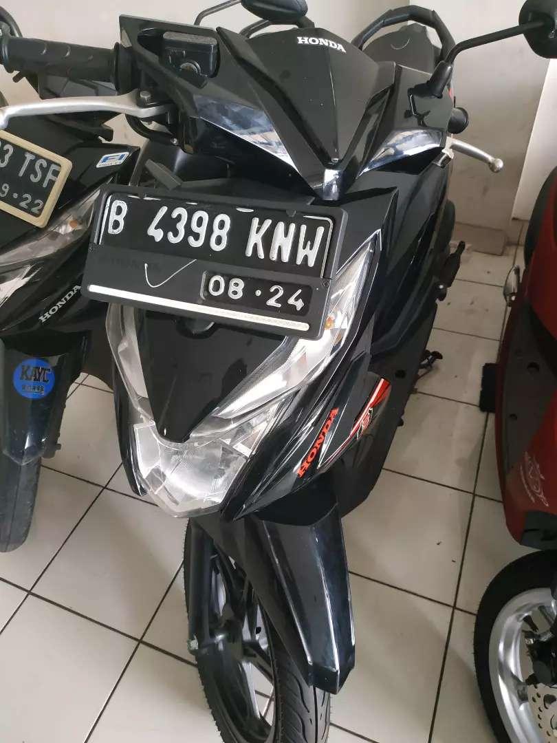 Honda Beat hitam 2019 BBN Bekasi kota gratis cash kredit 0