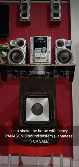 Panasonic Sound system with Japanese woofer