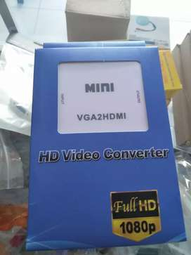 Konverter mini VGA to HDMI