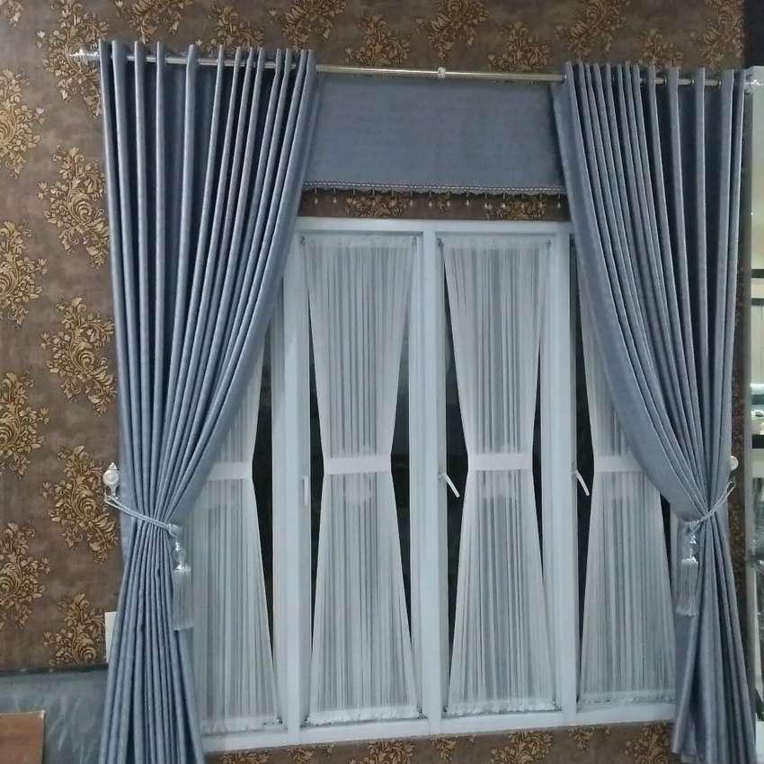 Gorden curtain minimalis vitrase gordyn gordeng hordeng