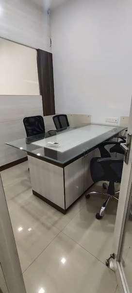 Fully furnished office shri krishna on link road