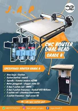 CNC Router  & CNC Ruter Dual Tipe B
