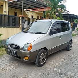 Hyundai Atoz Gls (two tone/2 warna) pajak baru dan ban baru