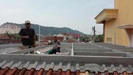 Kanopi atap solartuff flat pengganti kaca _ Canopy Minimalis