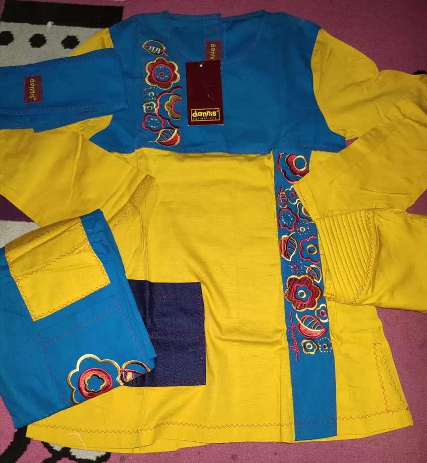 Jual baju muslim anak Dannis cewek 0