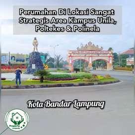 Perumahan Dalam Kompleks Besar Area Kampus Polinela Bandar Lampung
