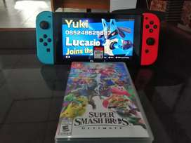 Kaset nintendo Super Smash Bros Ultimate