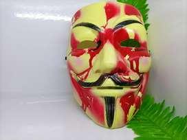 Topeng mask bloody hacker