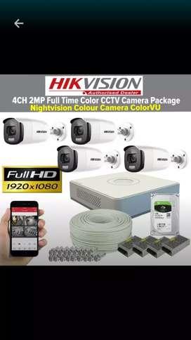 pasang Kamera  CCTV  alat keamanan rumah/kantor/toko dll kualitas 2mp