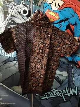 Baju batik anak size XL