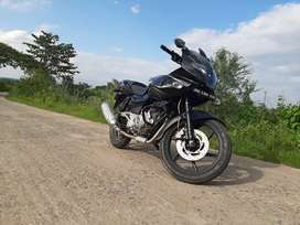 Bajaj pulsar 220f very less run and very well maintained.