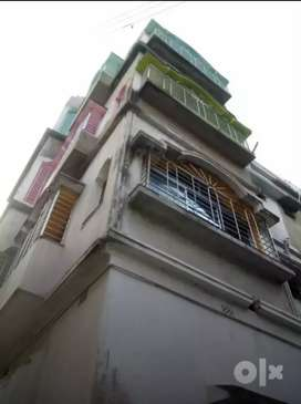 3bhk apartment type house for rent at puratan bazar, kharagpur