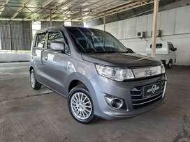 Suzuki Wagon R GS AT 2018 Abu Metalik kondisi Istimewa tdp hanya 14 jt