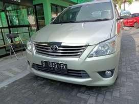 Innova diesel V 2012 PJK hidup panjang lokasi Yogyakarta