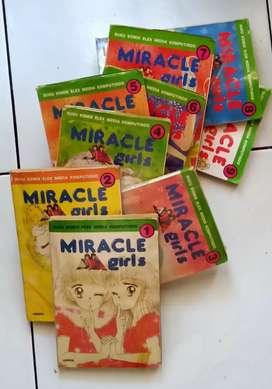 Komik Jepang Serial cantik Miracle Girls