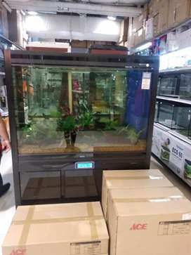 Aquarium and Cabinet set . Bisa Cicilan di Homecredit