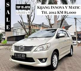 Toyota Kijang Innova V 2012/2013 Matic AT Bensin Bukan Manual Diesel G
