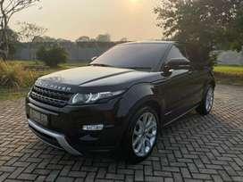 Range Rover Evoque 2012 Black Very Like New