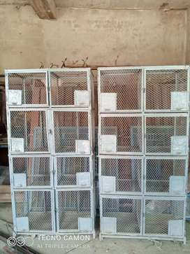Iron Cage for sale ..Size each box 1 1/2 by 1 1/2 .. weight 120 kg