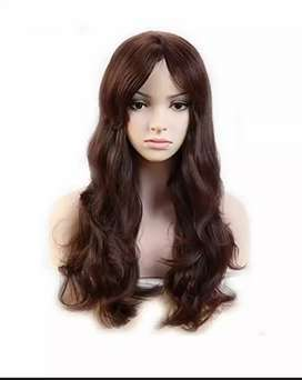 Synthetic full head wig