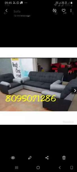 Dazzling new sofa set with warranty