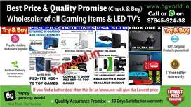 Wholesale Xbox1s|1x|360,PS2|ps3|ps4,Switch,VR-allGamingItems&LED TVs