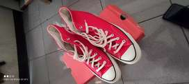 Converse 70's high red