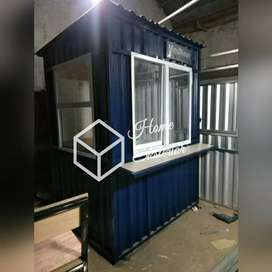 PROMO TAHUN BARU - CONTAINER BOOTH - CONTAINER CAFE BAR RESTO - BOOTH