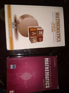 RD SHARMA BOOK FOR CLASS 11th and R S AGGARWAL BOOK for class 12th