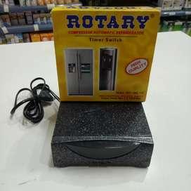 Rotary Automatic Timer Switch 2x 1200w Pelindung Kulkas Dan Dispenser