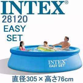 INTEX 28120 (size:10ft/30inc) above ground easyset swimming pool.