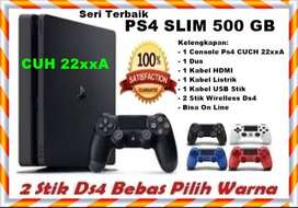HaDiaH BuaT TerSaYanG    New Sony Ps4 Slim 500 GB + 2 Stik Wirelless