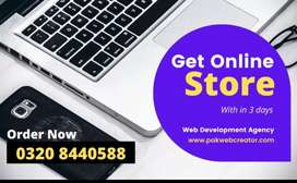 Complete Multivendor Online Store within 3 days on low rates