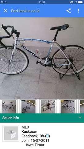 Dijual cepat sepeda gunung merk quattro