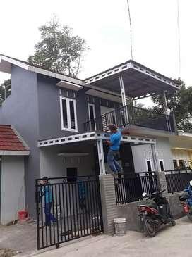 Bismillah menerima pemasangan atap baja ringan promo awal tahun