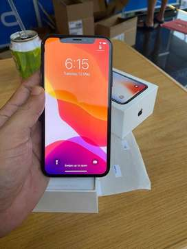 Apple IPhone X 256GB as new as Box piece with box charger,data cable