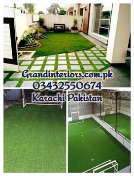 Artificial Grass or Astro turf sports Grass by Grand Interiors