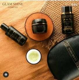 Glam Shine Gold Series Skincare Kekinian