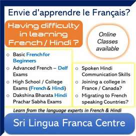 Learn French & Hindi from Experts