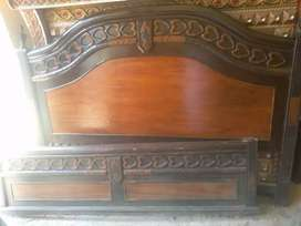New condition double bed