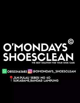 Jasa cuci / perawatan sepatu ( free pick up & delivery)