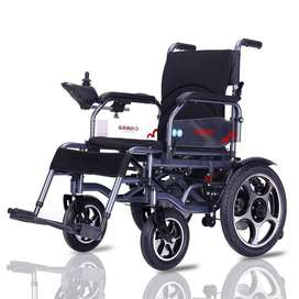 Electric Wheelchair with Shocks & Big Battery Model 90H