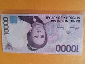Uang Kuno pecahan 10.000