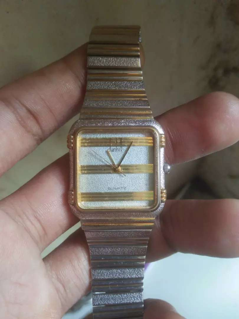 Jam tangan vintage dunhill quartz original