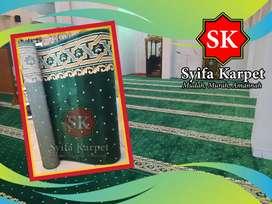Karpet Masjid Hijau dijamin harga terjangkau